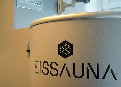 Eissauna®-Tank